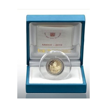 2 euro Vaticaan 2019 'Oprichting Vaticaan' Proof