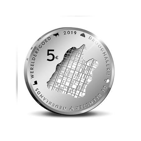 Nederland 2019 Het Beemstervijfje Zilver Proof in Blister Voorverkoop*