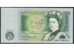 377b Groot-Brittanië 1 Pound Unc