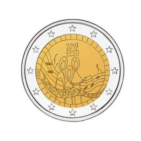 2 euro Estland 2019 Songfestival Unc Voorverkoop*