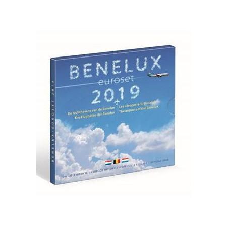 Beneluxset 2019 Benelux airports.