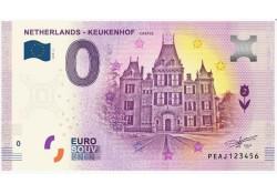 0 Euro biljet Nederland 2019 - Keukenhof Castle