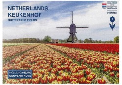 First Issue Pack nummer 5 Keukenhof Tulip Fields