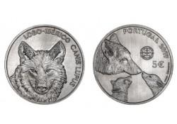 Portugal 2019 5 Euro 'de Wolf' Unc