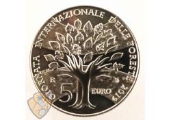 San Marino 2019 5 euro Zilver Giornata Internazionale Delle Foreste