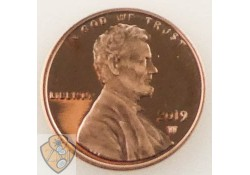 U.S.A. 1 Cent 2019 W (West point) Proof