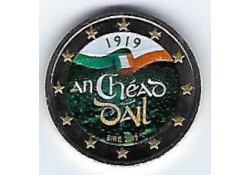 2 euro Ierland 2019 Dail Eireann Gekleurd