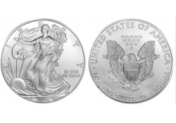 Km 273 U.S.A. Silver Eagle 2010 Unc 1 Ounce