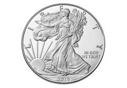 Km 273 U.S.A. Silver Eagle 2019 Unc 1 Ounce