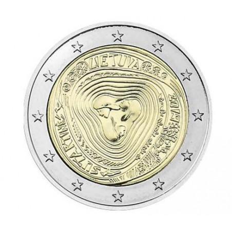2 Euro Litouwen 2019 Sutartines Unc Voorverkoop*