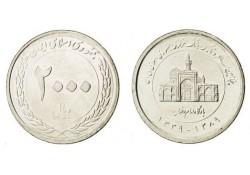 Iran 2010 (1389) 2000 Rials Unc '50 jaar centrale bank'