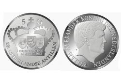 5 Gulden NA Zilver 2013 verwelkoming nieuwe koning