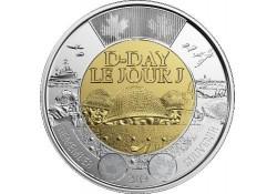 Canada 2019 2 dollar D-Day Unc