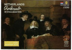 First Issue Pack nummer 9  Rembrandt de Staalmeesters