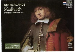 First Issue Pack nummer 10  Rembrandt Portret van Jan Six