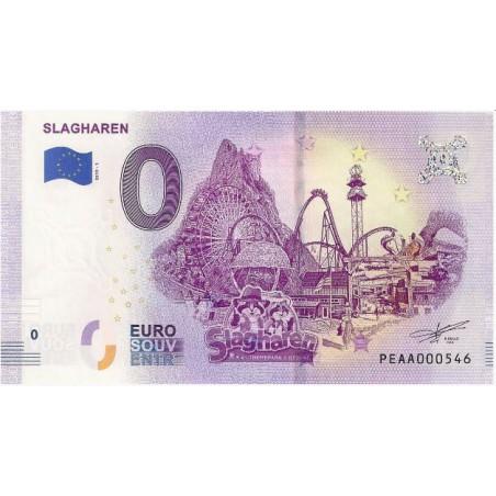 0 Euro biljet Nederland 2019 - Slagharen