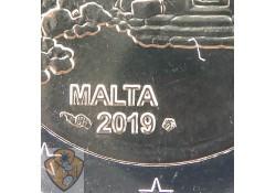 2 euro Malta 2019 Tempel Ħaġrat Met Frans muntteken Unc