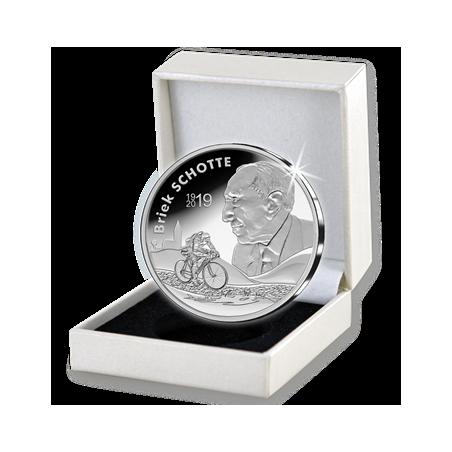België 2019 10 euro '100ste geboortedag Briek Schotte'zilver Proof Voorverkoop*