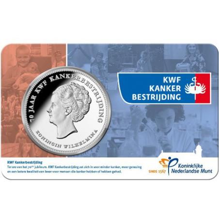 Nederland 2019 Penning KWF Kankerbestrijding in Coincard Voorverkoop*