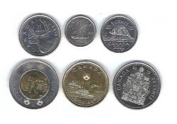 Canada 2019 5 cent t/m 2 dollar Unc (6 munten)
