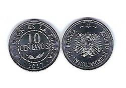 Bolivia 2017 10 Centavos Unc