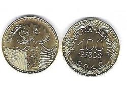Colombia 2016 100 Pesos Unc