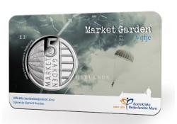 Nederland 2019 Het Market Garden Vijfje Unc in coincard Voorverkoop*