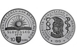 Slowakije 2019 10 Euro Bu 'Comenius University'