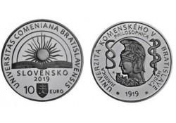 Slowakije 2019 10 Euro Bu 'Comenius University'