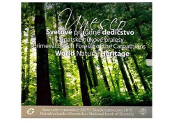 Bu set Slowakije 2019 World Natural Heritage