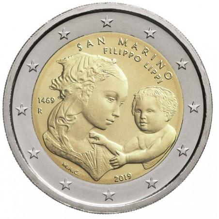 2 Euro San Marino 2019 Filippo Lippi in blister