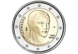 2 Euro Italië 2019  Leonardo Da Vinci Unc