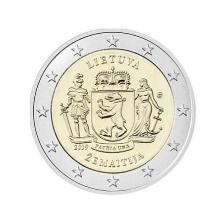 2 Euro Litouwen 2019 Samogitia Unc Voorverkoop*