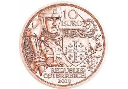 10 Euro Oostenrijk 2019 Ridderslag Unc