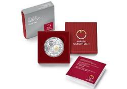 10 Euro Oostenrijk 2019 Ridderslag zilver Proof Gekleurd.