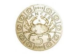 San Marino 2018 5 Euro Zodiac-Kreeft Unc
