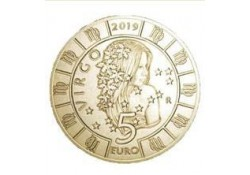 San Marino 2019 5 Euro Zodiac-Maagd Unc