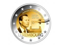 2 euro Luxemburg 2019 100 jaar Stemrecht Unc