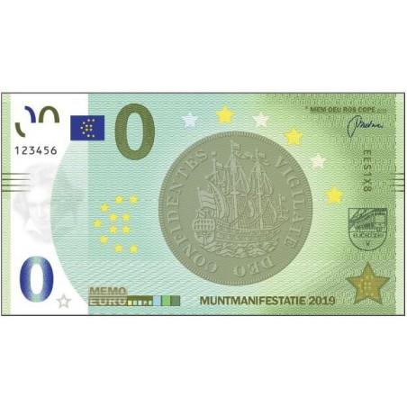 0 Euro biljet Nederland 2019 - Muntmanifestatie 2019