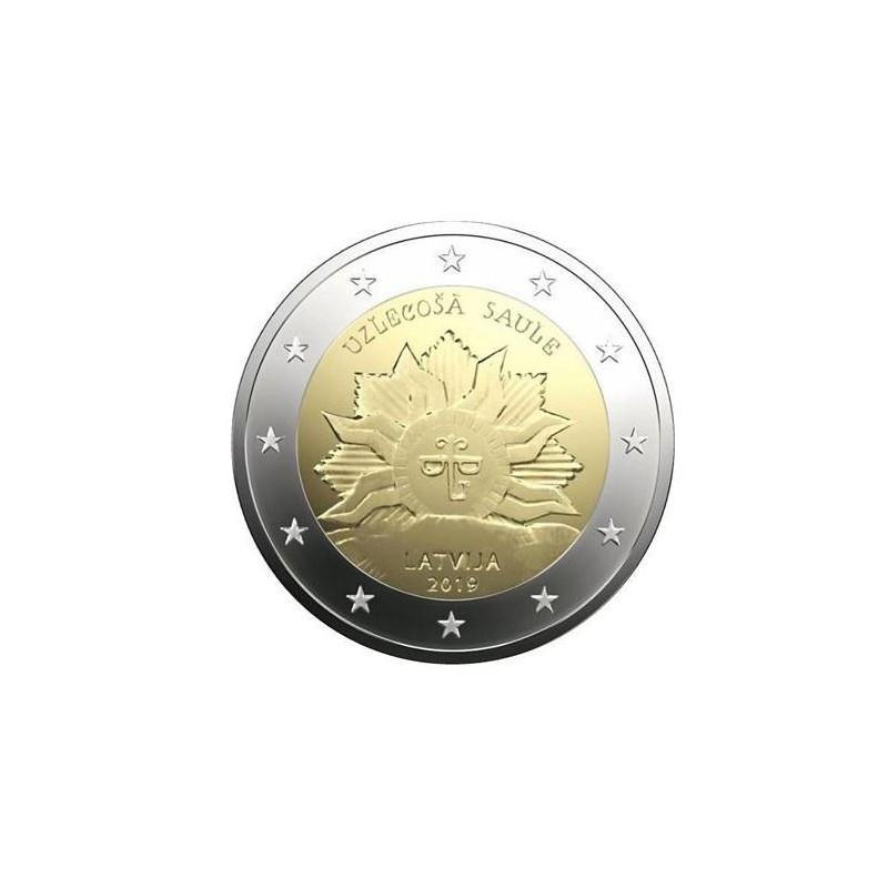 2 Euro Letland 2019 'Zonsopgang'  Unc