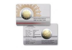 2 Euro Letland 2019 'Zonsopgang'  Bu in coincard