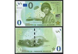 0 Euro biljet Nederland 2019 - Freedom Museum