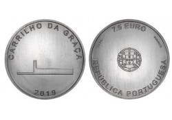 Portugal 2019 7½ euro Architectuur Unc