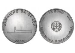 Portugal 2019 7½ euro Architectuur Unc