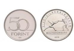 Hongarije 50 Forint 2019 Unc Schermen