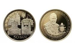 Roemenië 2019 50 Bani Unc Paus Franciscus