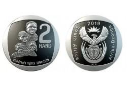 Zuid Afrika 2018 2 Rand Unc Children's rights