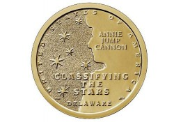 USA 1 dollar 2019 D American Innovation Classifying the Stars' Unc