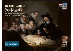 First Issue Pack nummer 14  Rembrandt Anatomische les van Dr Nicolaes Tulp