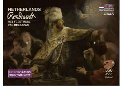 irst Issue Pack nummer 15  Rembrandt Het feestmaal van Belsasar